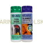 Zestaw Pielęgnacyjny Twin Pack NIKWAX TECH WASH / TX. DIRECT WASH-IN 2*300 ml