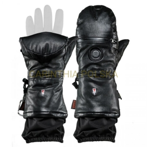 The HEAT COMPANY SHELL FULL LEATHER PRO rękawice kolor czarny